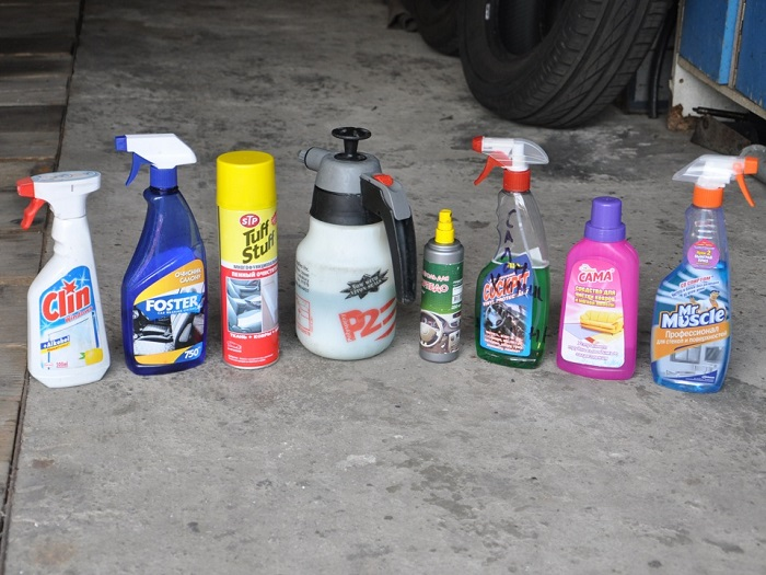 Чистящее средство для салона автомобиля своими руками